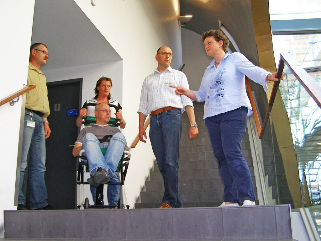 training evacuation chair evacuation equipment escape mobility company