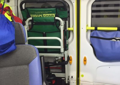 Escape-Chair® VOLT in ambulance