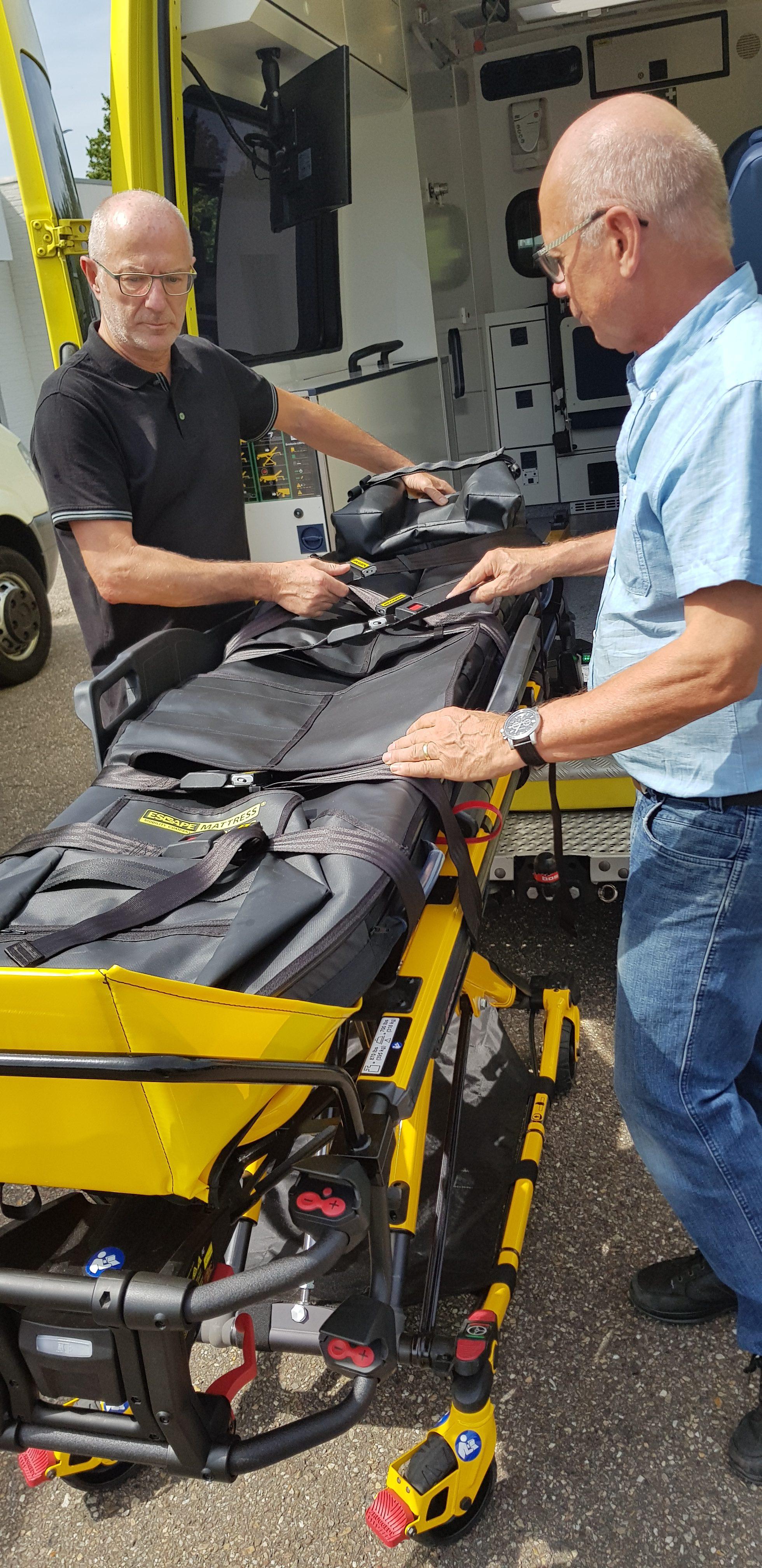 evacuatie ziekenhuis escape mobility company