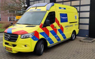 Ambulance Oost (Enschede-Hengelo) besteld weer 27 stuks Escape-Mattress® Brancard